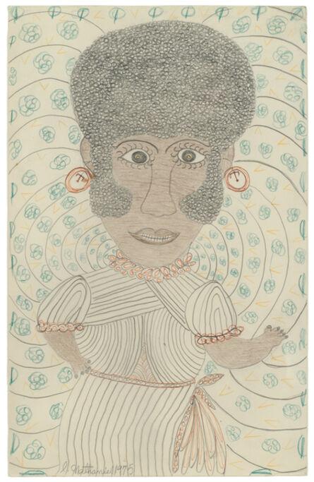 Inez Nathaniel Walker, 'Untitled (Portrait)', 1975