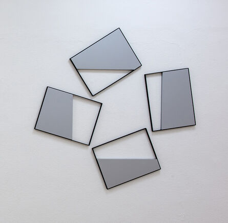 """Grazia Varisco, 'Quadri Comunicanti """"out""""', 2008"""