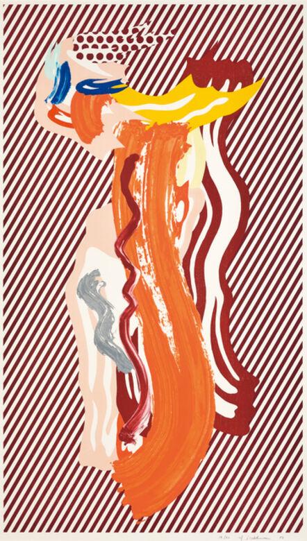 Roy Lichtenstein, 'Nude', 1989