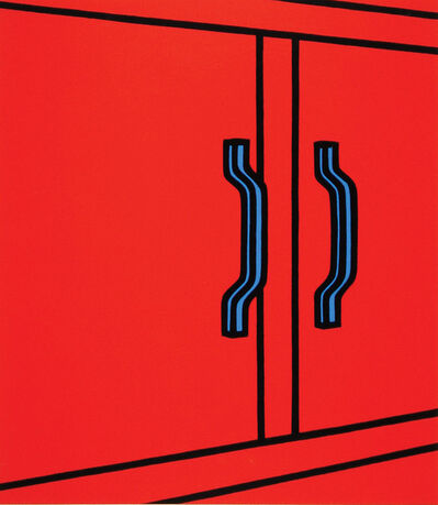 Patrick Caulfield, 'We wanted to bleed the Silence', 1973