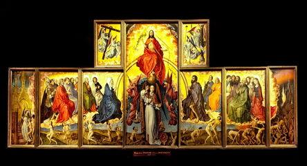 Rogier van der Weyden, 'Altar of the Last Judgment', 1434