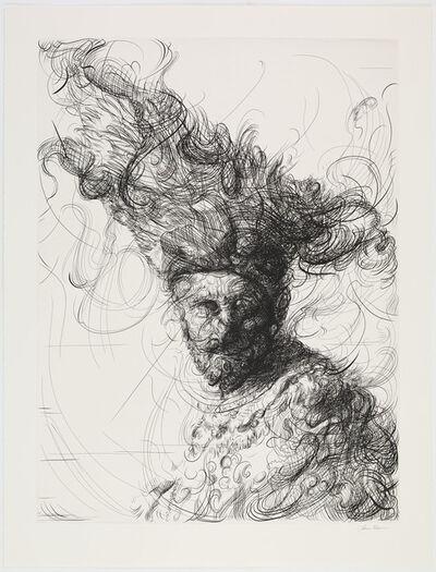 Glenn Brown, 'Bring on the Dancing Horses (after Rembrandt)', 2019