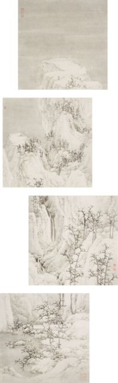Koon Wai Bong, 'Wintry Mountains along with the Silent Waters', 2021