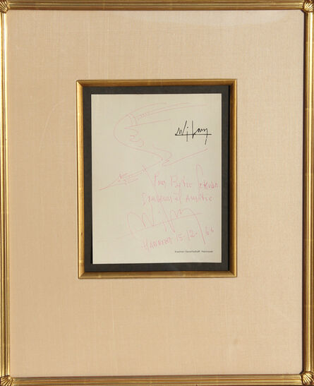 Wifredo Lam, 'Pour Betie', 1966
