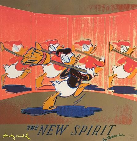 Andy Warhol, 'The New Spirit (Donald Duck)', 1986
