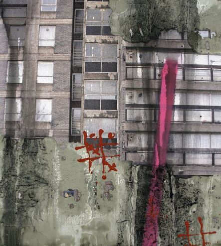 David Hepher, 'Study for Durrington Towers I', 2005
