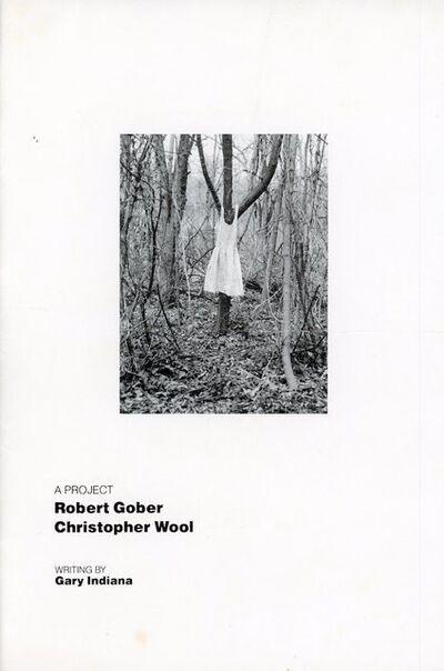 Robert Gober, '303 Gallery, Robert Gober, Christopher Wool, Gary Indiana, A Project, Booklet', 1988