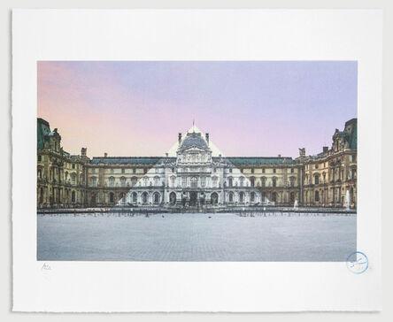 JR, 'Au Louvre, La Pyramide', 2016