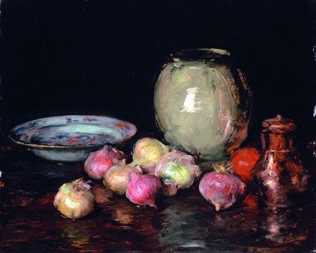 William Merritt Chase, 'Just Onions', 1912