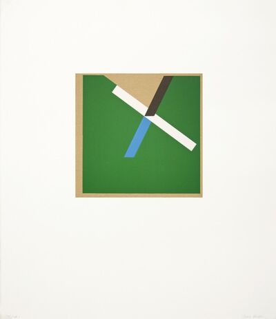 Tony Delap, 'Too Much Green IV', 2012