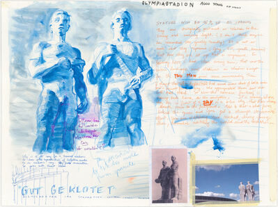 David Claerbout, 'Olympia Stadion study (Gut Geklotet)', 2014