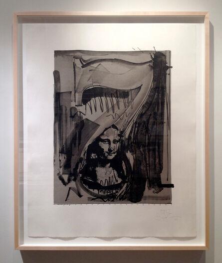 "Jasper Johns, 'Figure 7 from ""Black Numerals Series""', 1968"