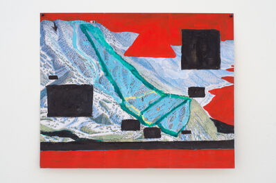 Jocko Weyland, 'Diamond Peak (Red Sky)', 2013