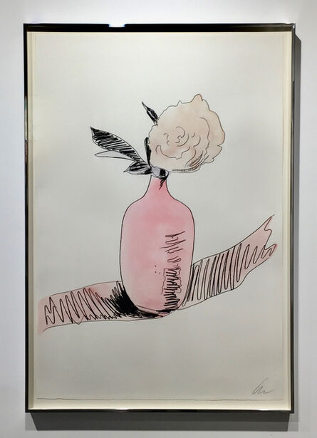 Andy Warhol, 'Flowers - Hand Coloured (F&S II.118) UNIQUE', 1974