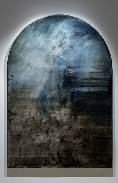 Jake Wood-Evans, 'The Immaculate Conception with Prussian Blue, after Murillo', 2019