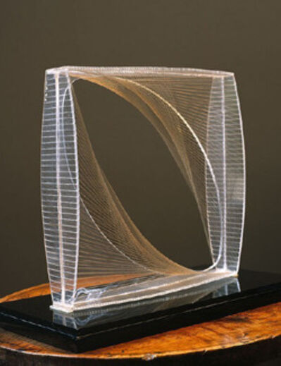 Naum Gabo, 'Linear Construction in Space No. 1', 1942