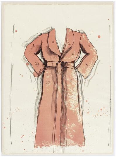 Jim Dine, 'Bathrobe', 1970-6