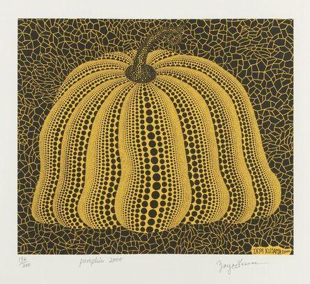 Yayoi Kusama, 'Pumpkin 2000 (Yellow) [Kusama 298]', 2000