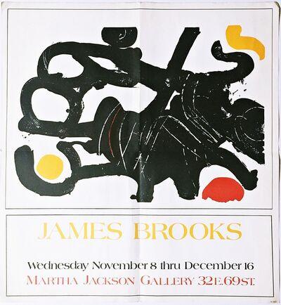 James Brooks, 'Martha Jackson Gallery ', 1972