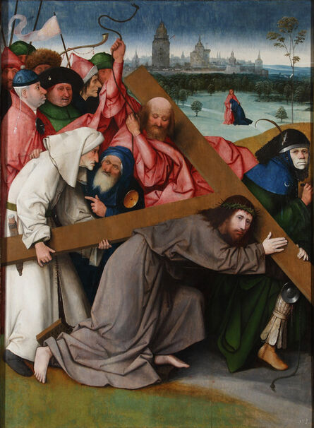 Hieronymus Bosch, 'Christ carrying the Cross', ca. 1500