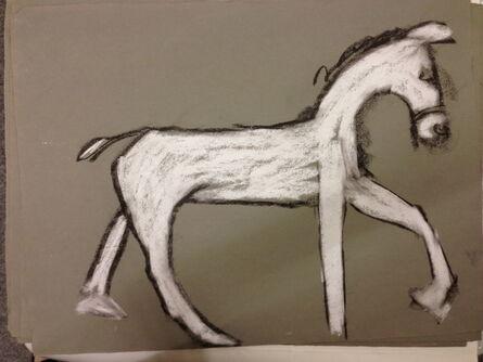Joan Jonas, 'White Horse Walking 1', 1997