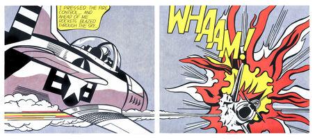 Roy Lichtenstein, 'Whamm!!', 1963