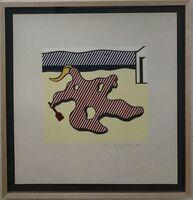 Roy Lichtenstein, 'Nude on Beach', 1978