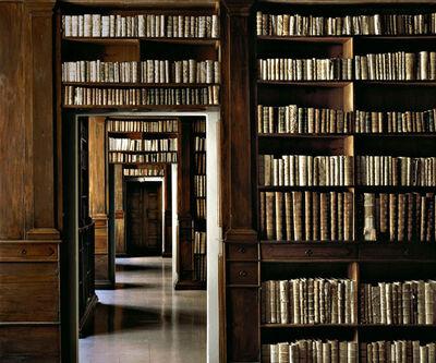 Massimo Listri, 'Biblioteca Nazionale di Napoli, Italy', 2002
