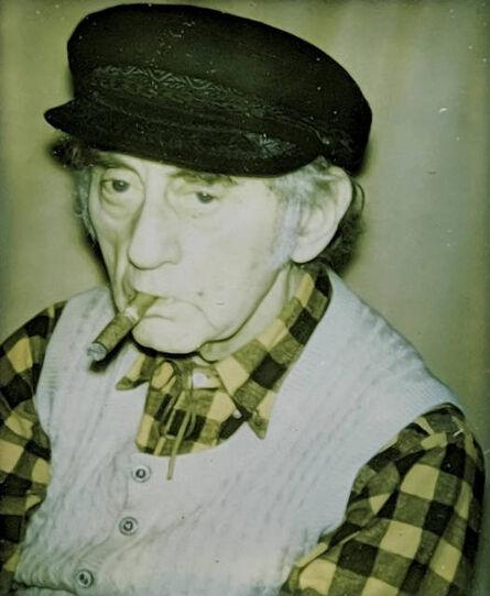 Andy Warhol, 'Portrait of Man Ray', 1974