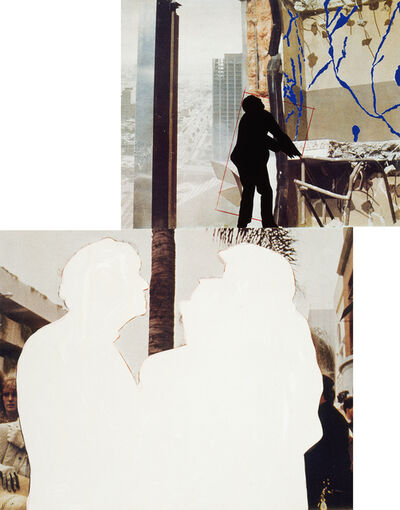John Baldessari, 'One and Three Persons (with Two Contexts - One Chaotic)', 1994-2012