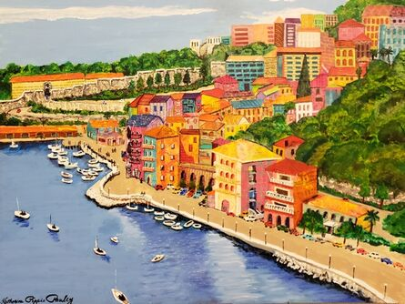 Katherine Pippin Pauley, 'Côte d'Azur', 2019
