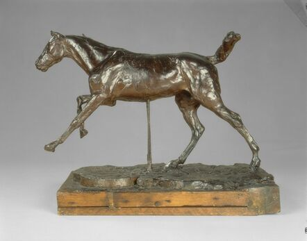 Edgar Degas, 'Horse Galloping on the Right Foot', late 1880s