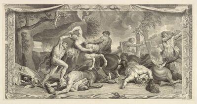 Charles Le Brun, '[Hercules battling the centaurs]', 1713-1719