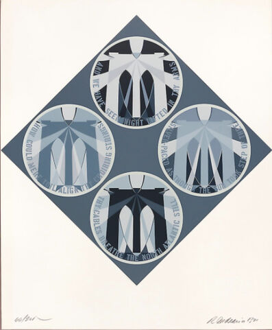 Robert Indiana, 'Decade (The Brooklyn Bridge)', 1971