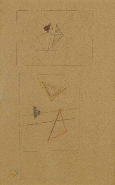 Friedrich Vordemberge-Gildewart, 'Studies for Composition No. 128 & 129 (D58)', 1941
