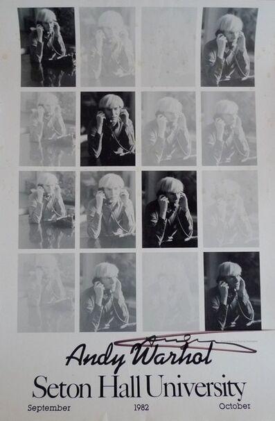 Andy Warhol, 'Seton Hall University', 1982