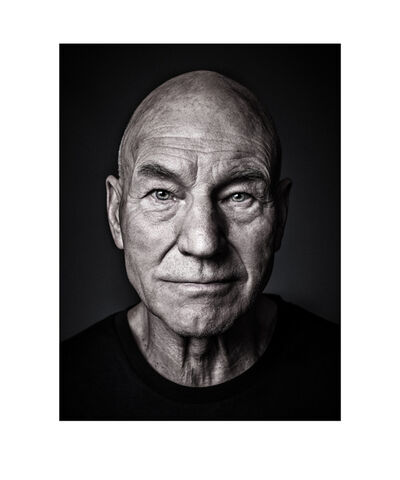 Andy Gotts, 'Patrick Stewart Co-signed', 2013
