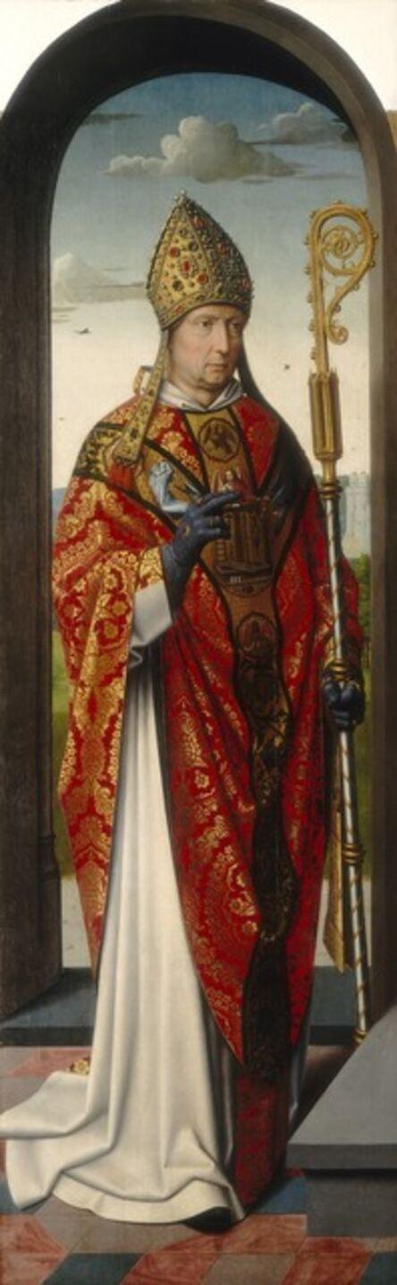 Gerard David and Workshop, 'The Saint Anne Altarpiece: Saint Nicholas [left panel]', ca. 1500/1520