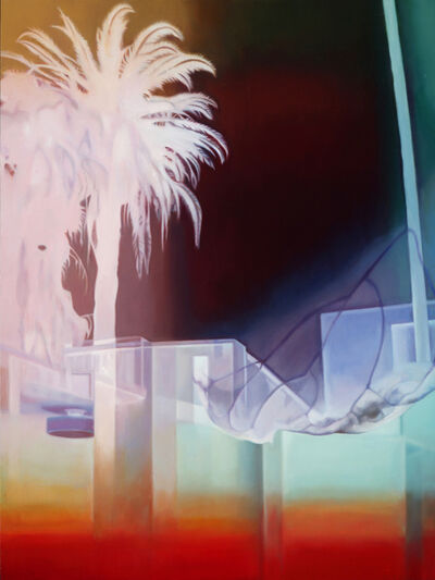 Patti Oleon, 'Palm Tree LA Apartment Lobby', 2019