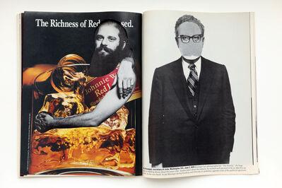 Robert Heinecken, 'Revised Magazine / Avedon - Newsweek, September 13, 1993', 1993