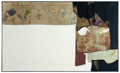 Alberto Burri, 'Grande bianco (Large White)', 1952
