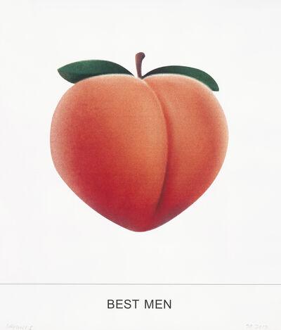 John Baldessari, 'BEST MEN', 2018