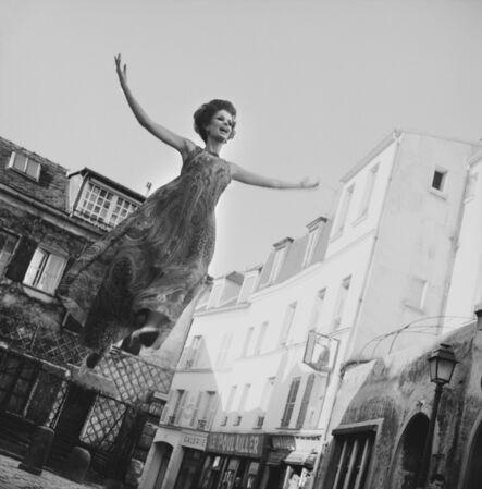 Melvin Sokolsky, 'Walk on Air, Paris', 1965