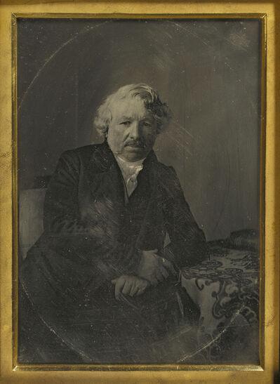 Charles Richard Meade, 'Portrait of Louis-Jacques-Mandé Daguerre', 1848
