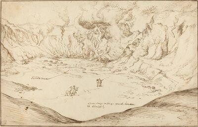 Joris Hoefnagel, 'Forum Vulcani: The Hot Springs at Pozzuoli', ca. 1577/1578