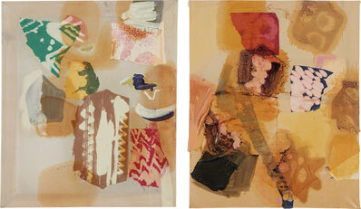 Lauren Luloff, 'Two works: (i) Pale; (ii) Golden', 2011