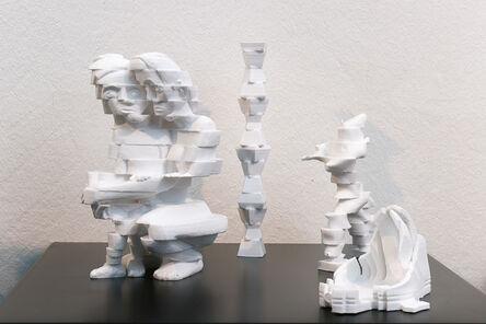 Peter Weibel, 'Scanned Sculptures - Ensemble', 2014