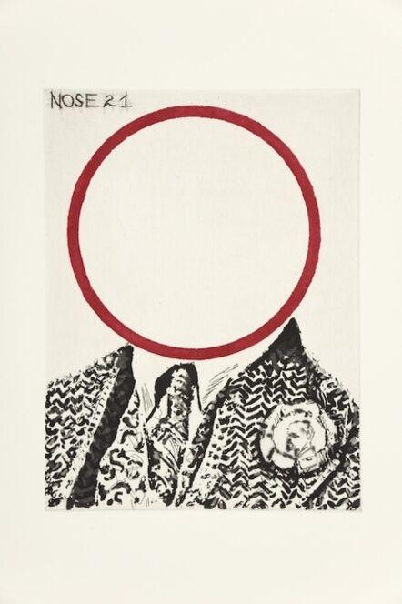 William Kentridge, 'Nose 21', 2009