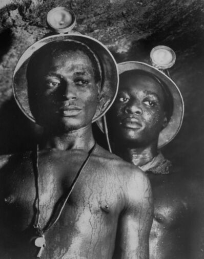 Margaret Bourke-White, 'Gold Miners, South Africa', 1950