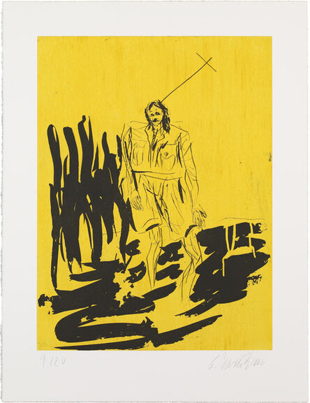 Georg Baselitz, 'Der Hirte from Remix (etchings)', 2006